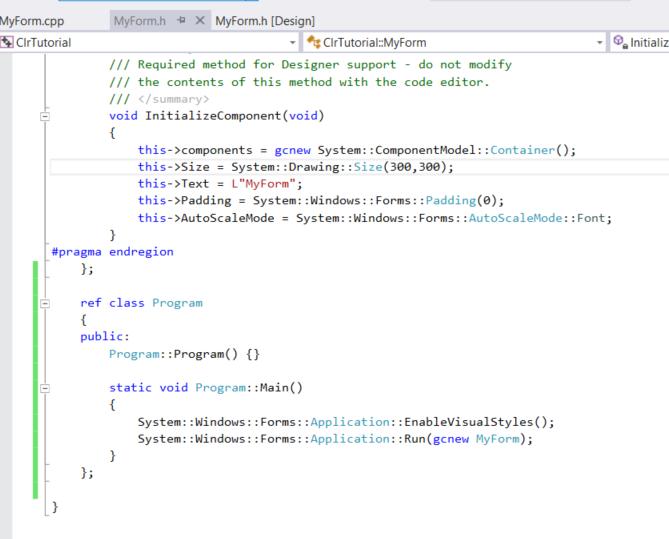 DLL C++ CLR (Late Binding) Sample