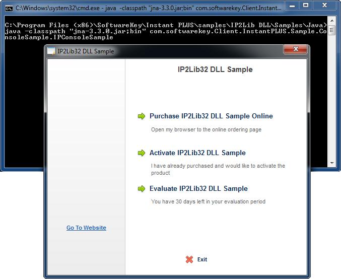 DLL Java Sample