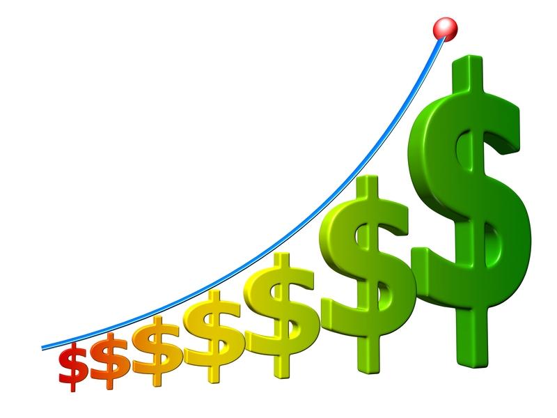 Increase Revenue Dollar Signs