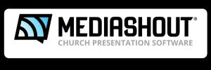 Logo for MediaShout Church Presentation Software